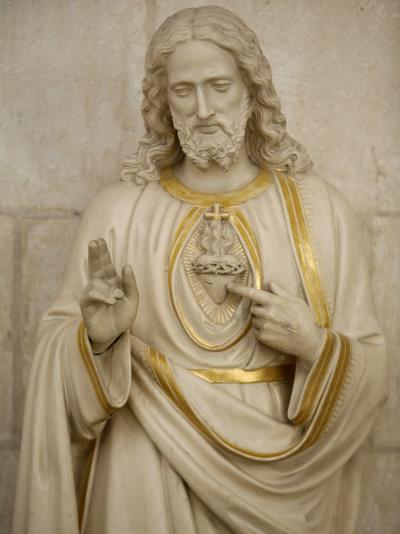 Jesus's Sacred Heart, Auxerre, Yonne, Burgundy, France, Europe-Godong-Photographic Print
