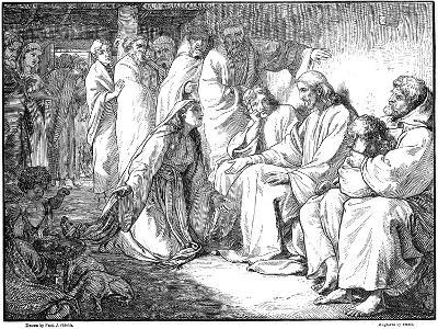 Jesus Speaking with the Woman of Canaan, 1865--Giclee Print