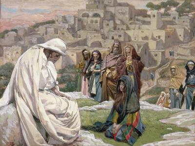 Jesus Wept, Illustration for 'The Life of Christ', C.1886-96-James Tissot-Giclee Print