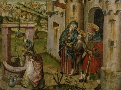Jesus with His Parents on their Way Home-Rudolf Stahel-Giclee Print