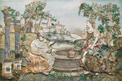 Jesus with the Woman of Samaria--Giclee Print