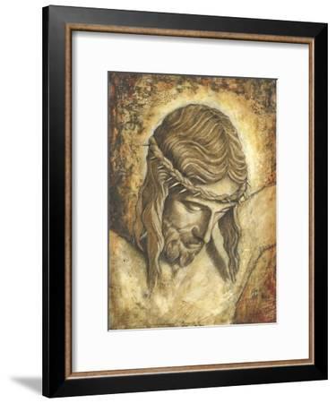 Jesus-Tina Chaden-Framed Art Print