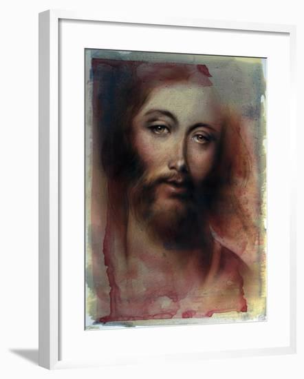 Jesus-Shen-Framed Art Print