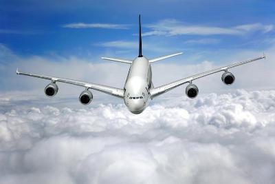 Jet Flight, Composite Image-Victor De Schwanberg-Photographic Print