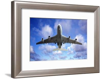 Jet Flight, Composite Image-Victor De Schwanberg-Framed Photographic Print
