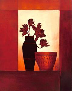 Black Vase I by Jettie Roseboom