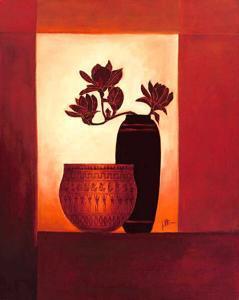 Black Vase II by Jettie Roseboom