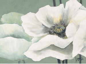 Poppy in Green II by Jettie Roseboom