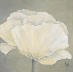 Poppy in White I by Jettie Roseboom