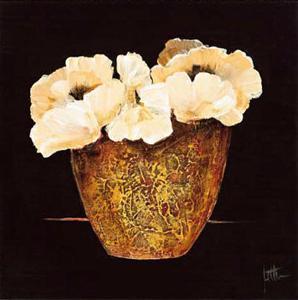Yellow Flowers I by Jettie Roseboom