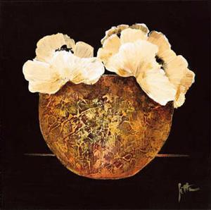 Yellow Flowers II by Jettie Roseboom