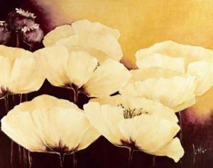 Yellow Poppies I by Jettie Roseboom