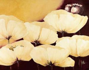 Yellow Poppies II by Jettie Roseboom