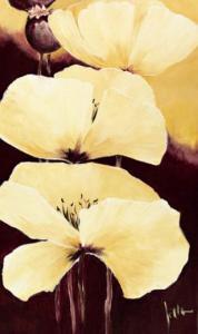 Yellow Poppies III by Jettie Roseboom