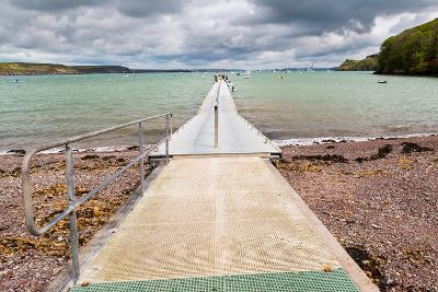 Jetty at Dale a Small Village on the Pembrokeshire Coast of West Wales UK Europe-Ian Woolcock-Photographic Print