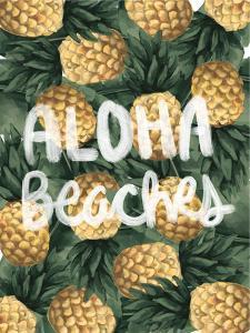 Aloha Beaches Pineapple by Jetty Printables