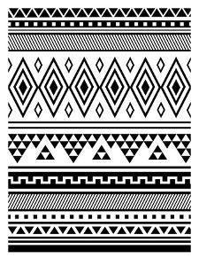 Black Tribal by Jetty Printables