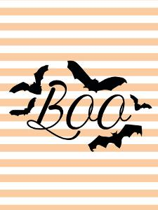 Boo With Bats by Jetty Printables