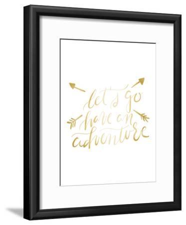 Gold Adventure Typography