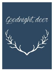 Goodnight Deer by Jetty Printables