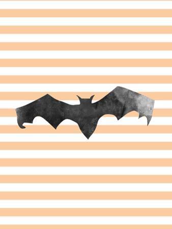 Halloween Striped Bat