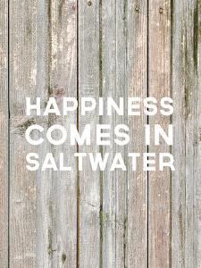 Happiness Comes In Saltwater Wood by Jetty Printables