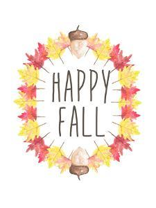 Happy Fall Typography by Jetty Printables