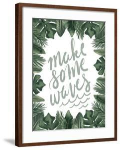 Make Some Waves Typography by Jetty Printables