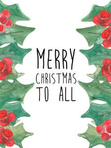 Merry Christmas To All by Jetty Printables