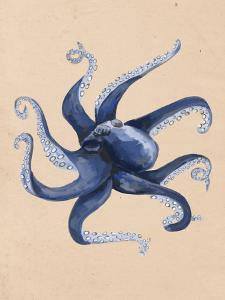 Nautical Octopus Painting by Jetty Printables