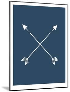 Navy Blue Arrow by Jetty Printables