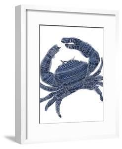 Navy Blue Tribal Crab by Jetty Printables