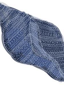 Navy Blue Tribal Shell Art by Jetty Printables