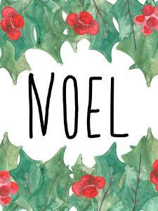 Noel With Holly by Jetty Printables