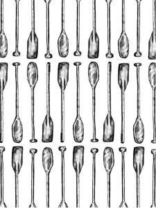 Oar Paddle Pattern by Jetty Printables
