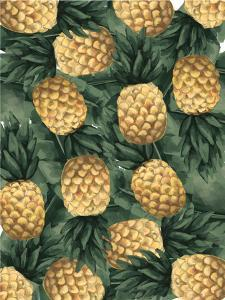 Pineapple And Tropical Botanicals by Jetty Printables