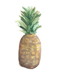 Pineapple Watercolor by Jetty Printables