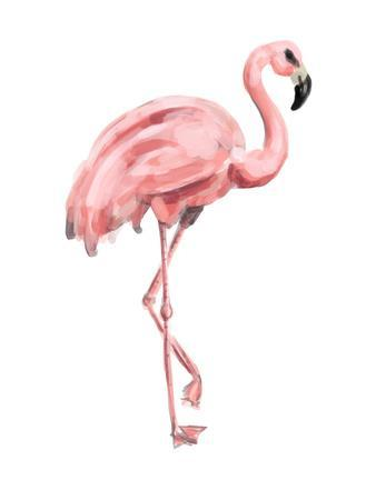 Pink Painted Flamingo