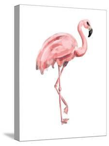Pink Painted Flamingo by Jetty Printables