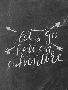 Silver Chalkboard Adventure Typography by Jetty Printables