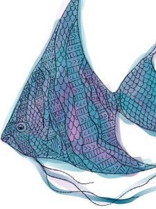 Tribal Boho Angel Fish Print by Jetty Printables