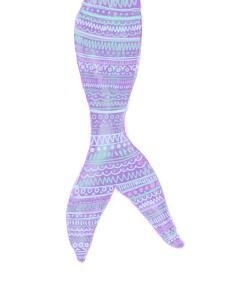 Tribal Mermaid Tail by Jetty Printables