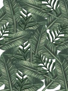 Tropical Palm Leaf Pattern by Jetty Printables