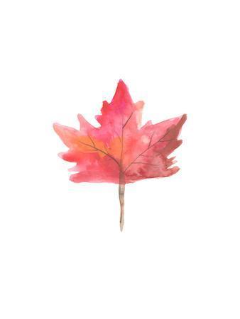 Watercolor 1 Leaf