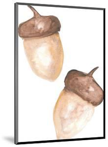 Watercolor Acorns by Jetty Printables
