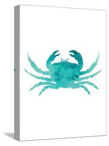 Watercolor Aqua Crab by Jetty Printables