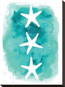 Watercolor Aqua Starfish 3 by Jetty Printables