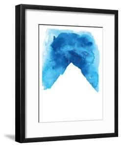 Watercolor Blue Mountain by Jetty Printables
