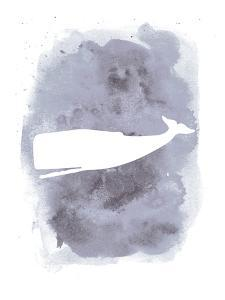 Watercolor Gray Back Whale by Jetty Printables