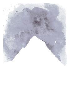 Watercolor Gray Mountain by Jetty Printables